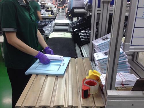 組裝產線-海樂斯UV光淨機